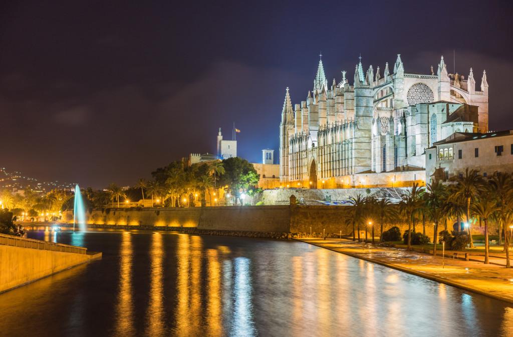Stadtführung Palma de Mallorca bei Nacht