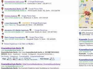 Google Places Berlin