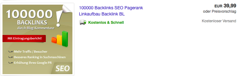 Offpage Optimierung Backlinks